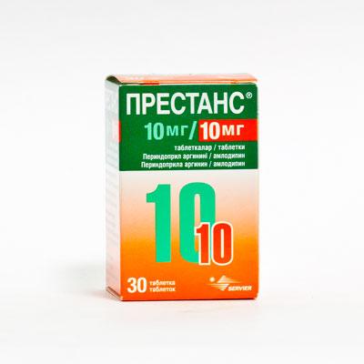 Таблетки престанс 10 10 инструкция по применению